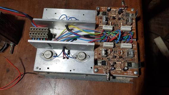 Modulo Amplificador De 130 W Rms Por Canal Reales Con Fuente