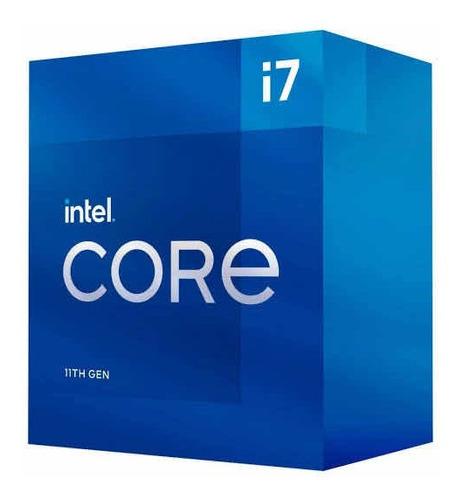 Imagem 1 de 1 de Processador Intel Core I7 11700f