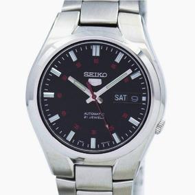 Relógio Seiko Automático Médio Masculino Aço Snk617k1