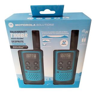Rádio Motorola Talkabout T100br - Anatel Loja Oficial