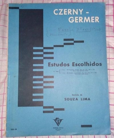 Revista Estudos Escolhidos - 1º Volume Czerny - Germer