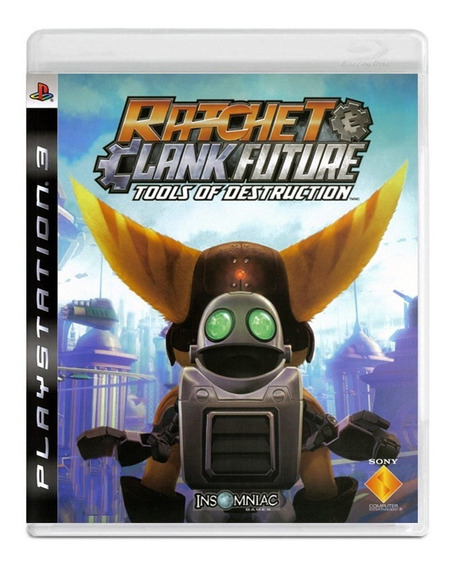 Ratchet Clank Future Tools Of Destruction - Ps3 - Original