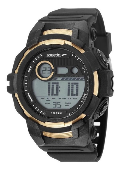 Relógio Speedo Masculino Ref: 11009g0evnp1 Big Case Digital