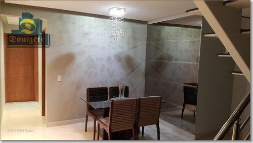 Cobertura Com 2 Dormitórios À Venda, 216 M² Por R$ 1.200.000,00 - Jardim Stella - Santo André/sp - Co0447