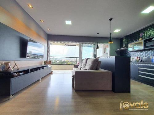 Imagem 1 de 25 de Apartamento Com 3 Suítes À Venda, 114 M² - Cond. Residencial Renaissance - Taubaté/sp - Ap2696
