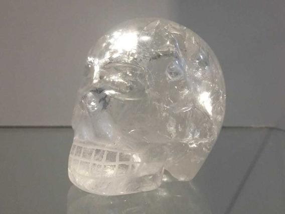 Crânio De Cristal Caveira De Cristal De Quartzo