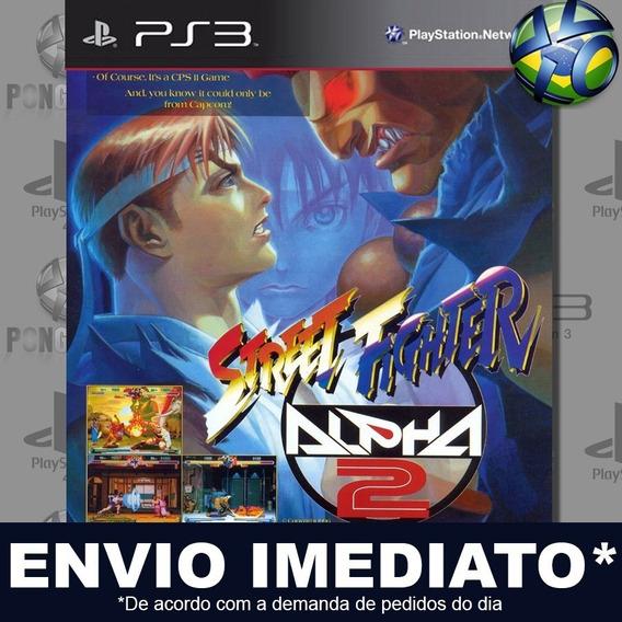 Street Fighter Alpha 2 (psone Classic) Ps3 Psn Jogo Promoção
