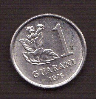 Numismza : Paraguay 1 Guarani 1976 S/c ( M 92 ) Oferta