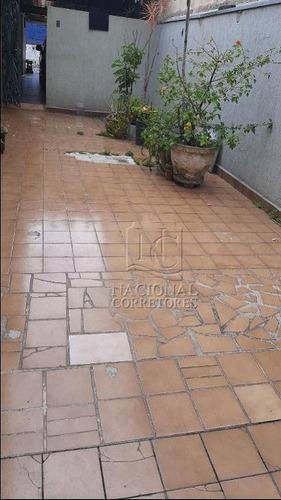 Casa À Venda, 190 M² Por R$ 570.000,00 - Vila Lucinda - Santo André/sp - Ca3172