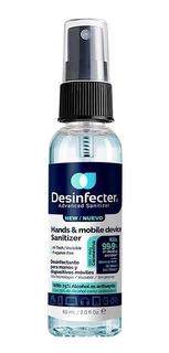 Desinfectante Spray Anti Viral Desinfecter Plus 60 Mls