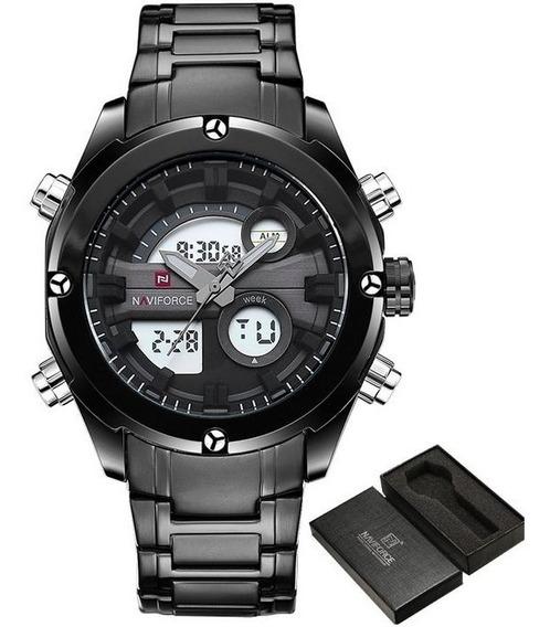 Relógio Masculino Naviforce 9088 Militar Lindo Frete Grátis