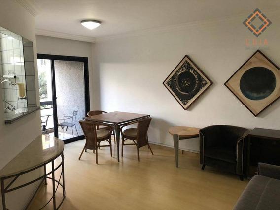 Apartamento Com 1 Dormitório À Venda, 52 M² Por R$ 850.000,00 - Vila Olímpia - São Paulo/sp - Ap42392