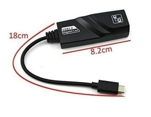 Cable Tipo-c A Red Rj45 Pc Linux Mac Android Titan Belgrano
