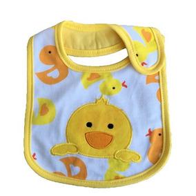3 Babador Fecho Em Velcro Para O Bebê