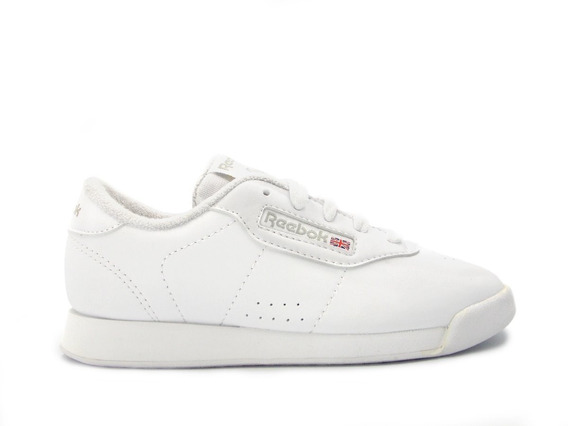 Tenis Reebok Infantil Classic Blanco Tallas 16,5 Al 21,5