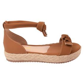 784bf0184 Sandalia Penelope Rasteirinha - Sapatos Marrom claro no Mercado ...