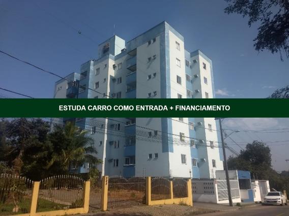 Lindo Apartamento No Iririú   01 Suíte + 01 Dormitório   Vaga De Garagem   Semi Mobiliado - Sa00915 - 34282787