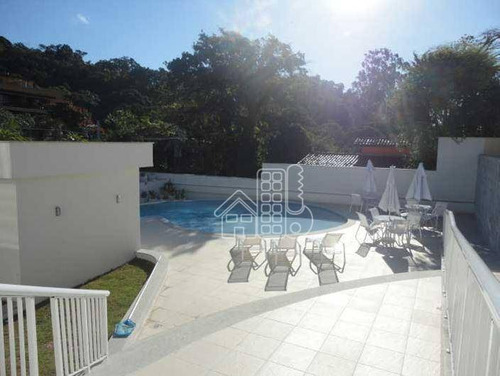 Apartamento Com 2 Dormitórios À Venda, 60 M² Por R$ 320.000,00 - Maceió - Niterói/rj - Ap1919