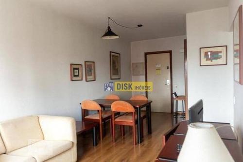 Flat Com 1 Dormitório Para Alugar, 52 M² Por R$ 1.364,94/mês - Centro - São Bernardo Do Campo/sp - Fl0003
