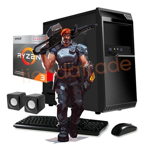 Imagen 1 de 9 de Pc Gamer Armada Computadora Amd Cpu Ryzen 3 8gb