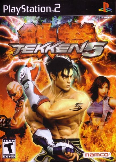 Tekken 5 Ps2 (luta 3d) Patch