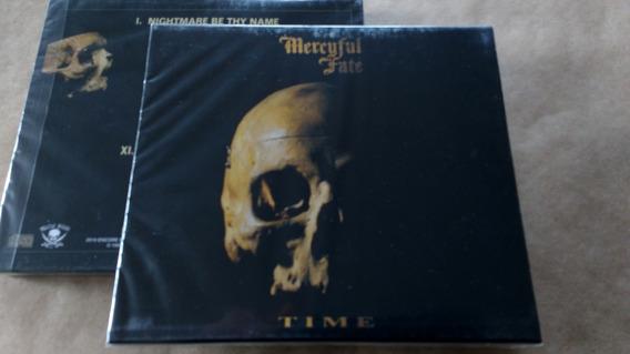 Cd Mercyful Fate - Time / Com Slipcase - Novo E Lacrado