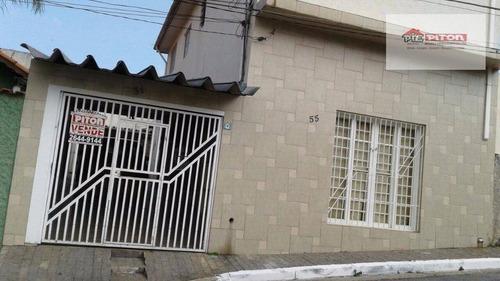 Imagem 1 de 16 de Sobrado Residencial À Venda, Vila Domitila, São Paulo. Por R$560.000,00 - So1754