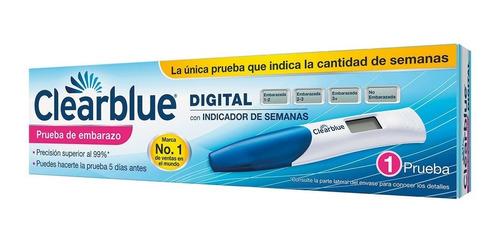 Clearblue Test Digital Prueba Embarazo Indicador De Semanas