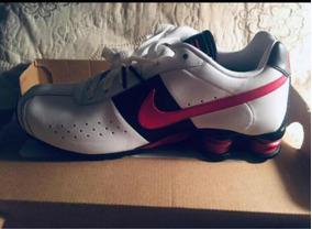 Tenis Nike Shox Lindo Todo De Couro Novo Tam 39 40 Com Nota!