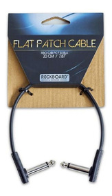 Cabo Para Pedal Rockboard 20cm Flat Patch Cable
