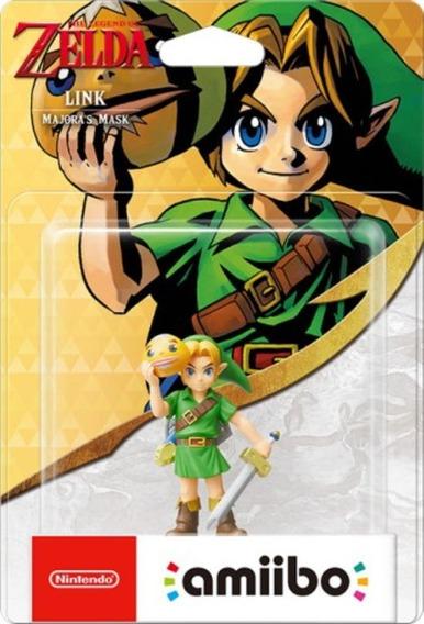 Amiibo Link Majora´s Mask Switch Wiiu 3ds 2ds