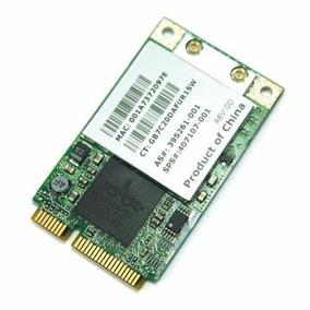 Placa Rede Mini Pci Wi-fi Hp 802.11b/g Hs Pn 407159-002