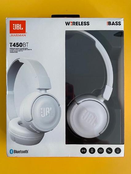 Fone Ouvido Bluetooth Jbl T450 Bt - Original Com Nota Fiscal