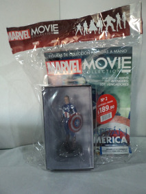 Marvel Movie Collection Captain America Deagostini 2019 #1