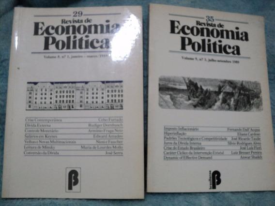 Revista De Economia Política - Lote Com 12 Volumes