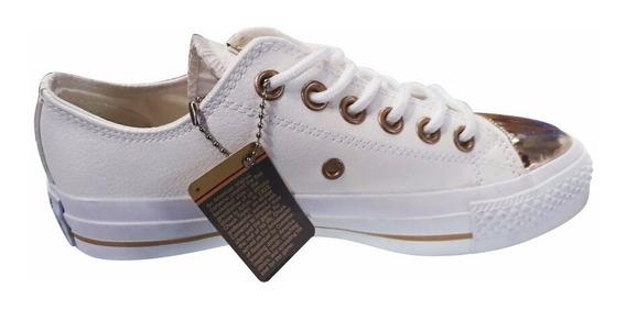 zapatillas converse doradas