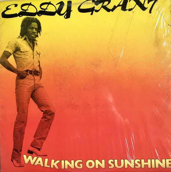 Lp Eddy Grant - Walking On Sunshine Usa 1979