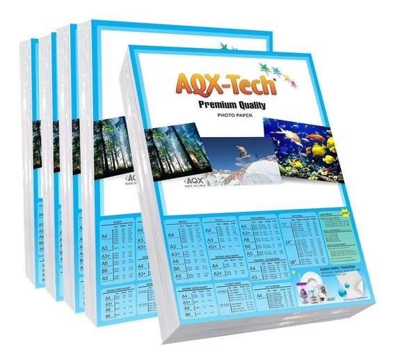 Papel Fotografico Autoadhesivo A4 Glossy Sticker 200 Hs