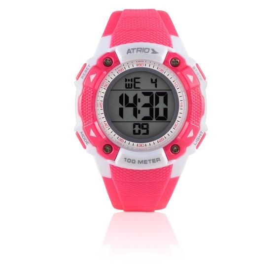 Relógio Feminino Iridium Rosa Es097 - Atrio