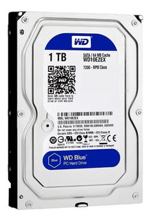 Disco Rigido Western Digital 1tb Sata 3 7200rpm Bufer 64 Mb