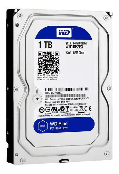 Disco Rigido Western Digital 1tb Sata 3 7200rpm Bufer 64 Mb