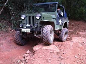 Jeep Willys Cj3 1953 Overland - Cara De Cavalo