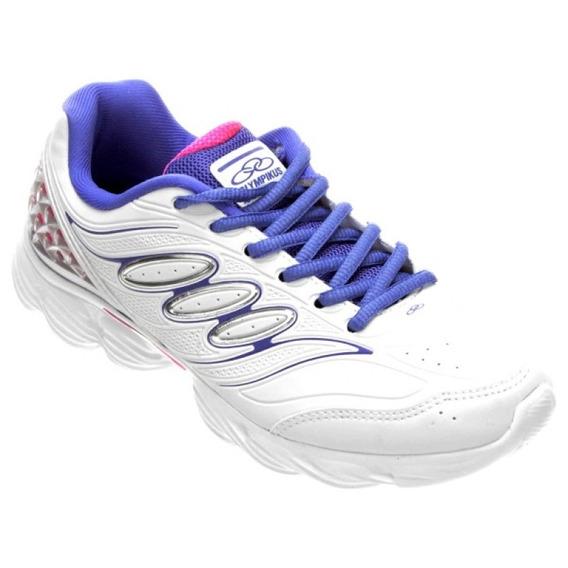 Tenis Olympikus Form 110 - Branco - Delabela Calçados
