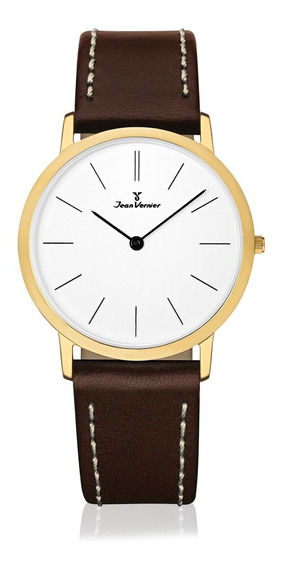 Relógio Slim Jean Vernier Jv332 Extra Chato