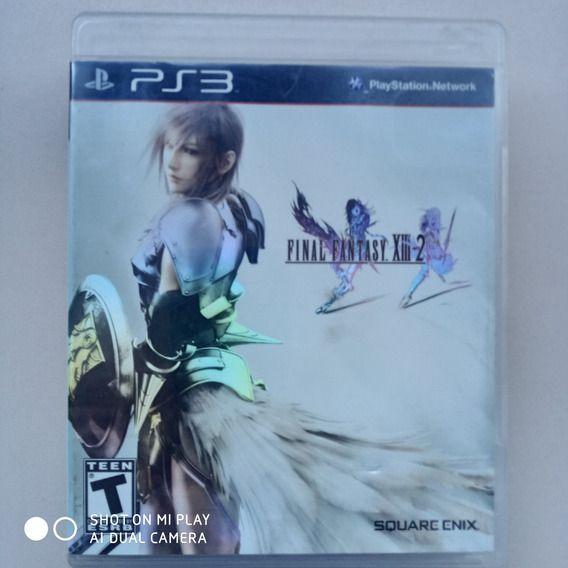 Jogo Ps3 Final Fantasy Xiii-2 Original Física Usado Seminovo