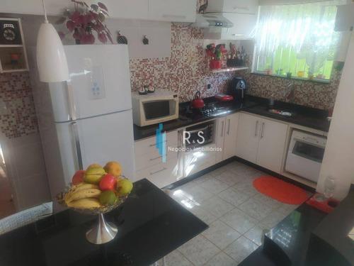Imagem 1 de 13 de Casa Com 3 Suítes À Venda, 240 M² Por R$ 750.000 - Vila Pasti - Louveira/sp - Ca0584