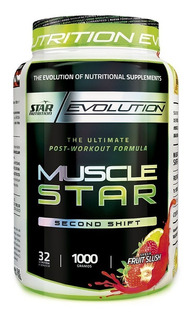 Musclestar 1 Kg Star Nutrition Creatina Glutamina Vitaminas