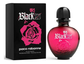Black Xs Femme Edt Feminino By Paco Rabanne 50 Ml
