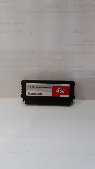 Ide Flash Module Dom Transcend 40 Pinos 4gb