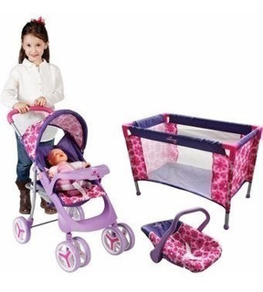 Juego De Accesorios Bebe Juguete Para Niñas Muñecas Max Doll